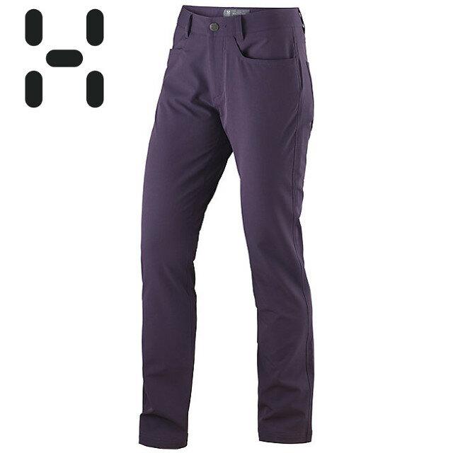 HAGLOFS 軟殼褲/登山褲 OXIDE PANT  瑞典 女款 603376 32Q 果苺紫