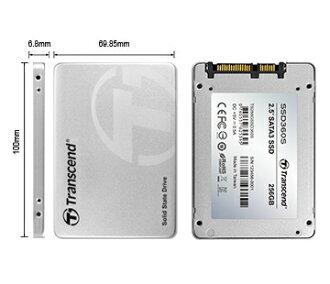 Transcend 創見 SSD 360S固態硬碟 公司貨