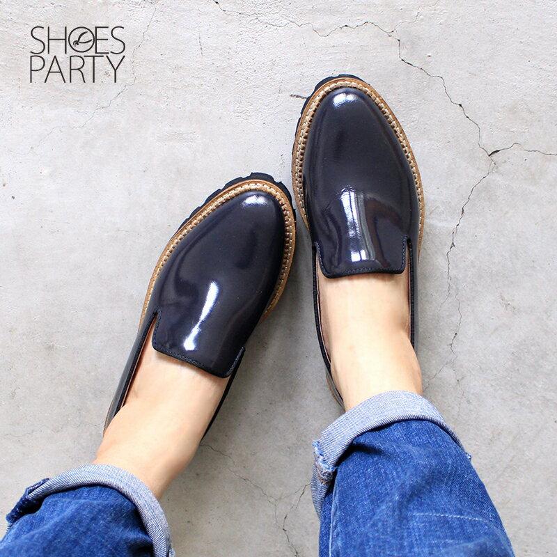 【C2-17907L】真皮個性厚底歐貝拉_Shoes Party 1
