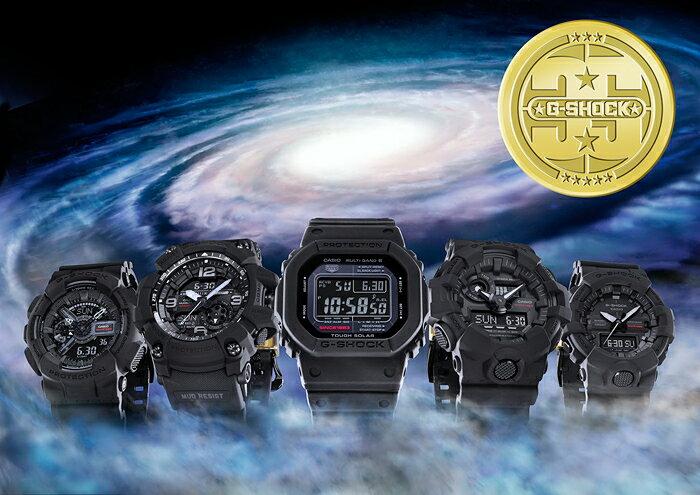CASIO 卡西歐 GG-1035A-1A G-SHOCK 35th限量紀念錶 黑 55.3mm 2