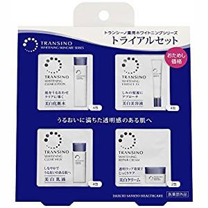 現貨 日本人氣 TRANSINO 「藥用美白系列」外出隨身旅行組