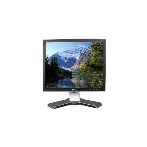 17'' Dell 1707FPVT DVI LCD Monitor w/USB Hub (Black/Silver) 0