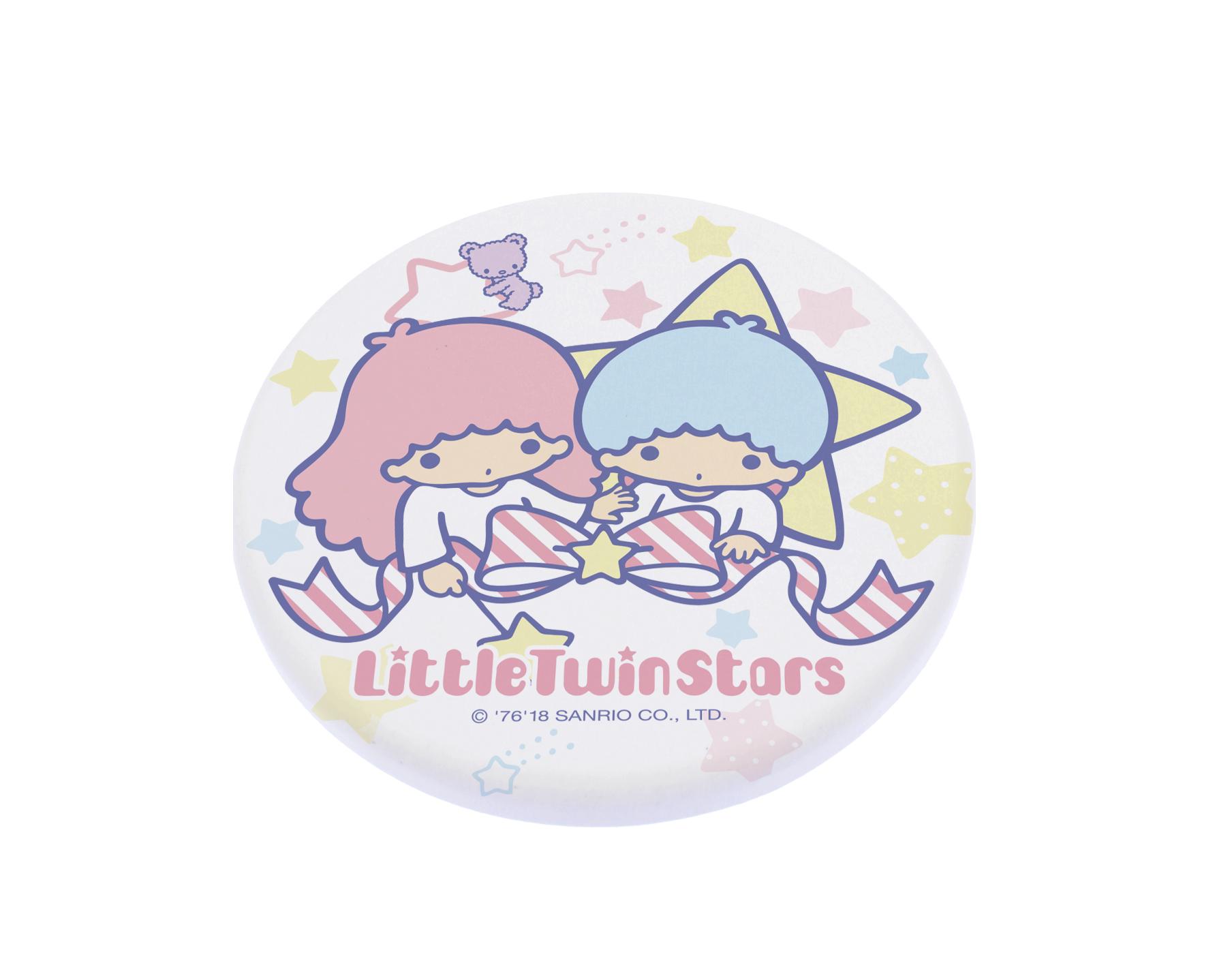 【買一送一】三麗鷗獨家授權 Sanrio 珪藻土吸水杯墊 雙子星 KIKI LALA 1