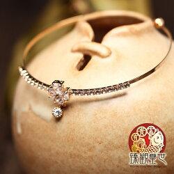 幸福蔓延 絢爛桃花手環 含開光 臻觀璽世 IS4363