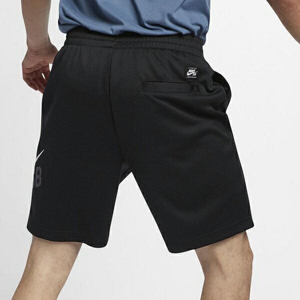 Shoestw【BQ9427-010】NIKE SB 運動短褲 訓練褲 慢跑短褲 DRI-FIT 黑色 男生 3