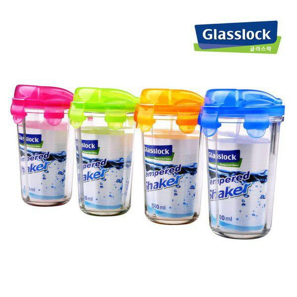 新款韓製Glasslock強化玻璃隨行杯500ml【單入】RC105 玻璃杯 水杯 咖啡杯 茶杯