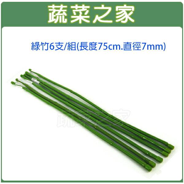 ~蔬菜之家013~A15~6~綠竹6支  組 長度75cm,直徑7mm