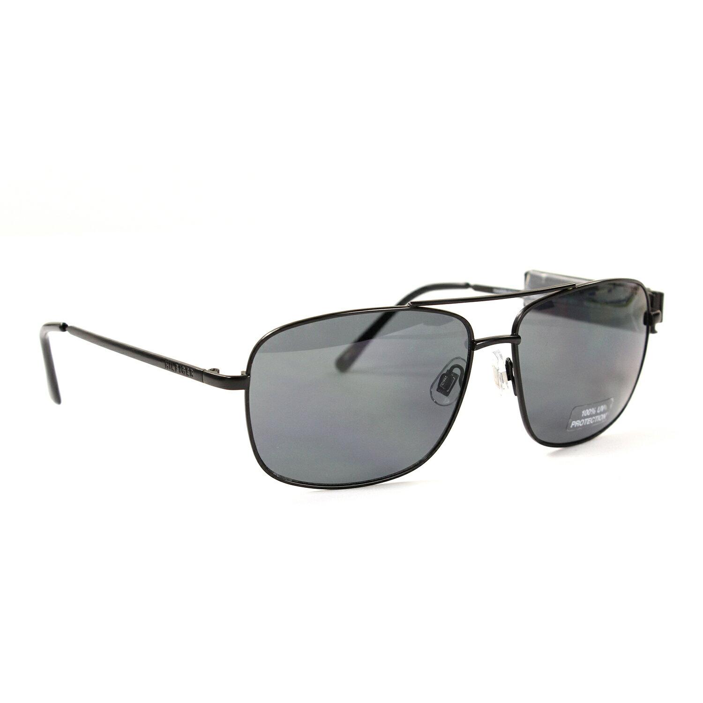美國百分百【Tommy Hilfiger】太陽眼鏡 TH 墨鏡 配件 眼鏡 抗UV 飛行 方框 黑框 灰鏡片 F365