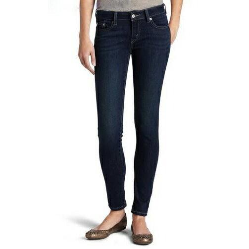 美國百分百【全新真品】Levis 535 legging 牛仔褲 窄管 單寧 緊身褲 深藍 女 27 28 29 30 31腰 F372