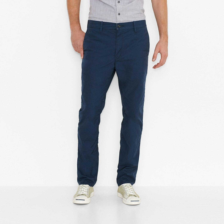 美國百分百【Levis】511 Slim Fit Chino 男 牛仔褲 休閒褲 直筒褲 合身 單寧 靛藍色 29 30 31腰 F454