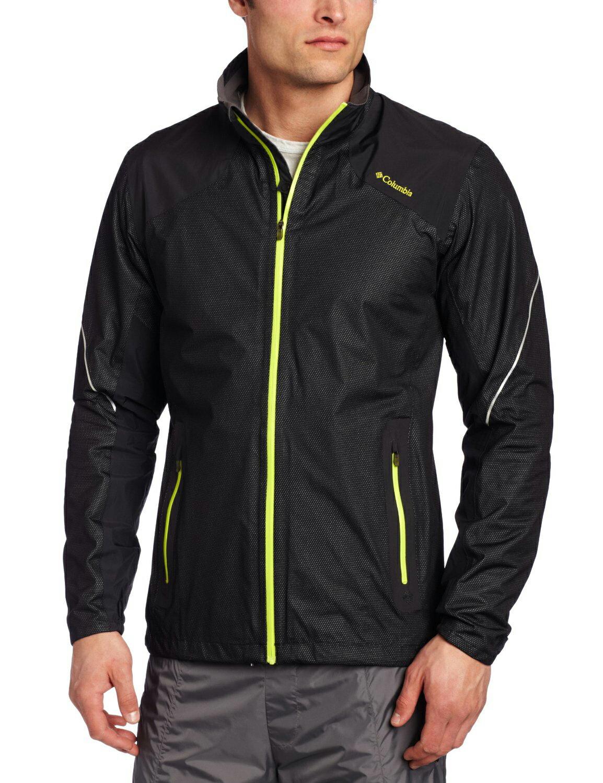 美國百分百【全新真品】Columbia 外套 夾克 哥倫比亞 黑色 防水 防風 快乾 吸濕排汗 透氣 XXL號 F308
