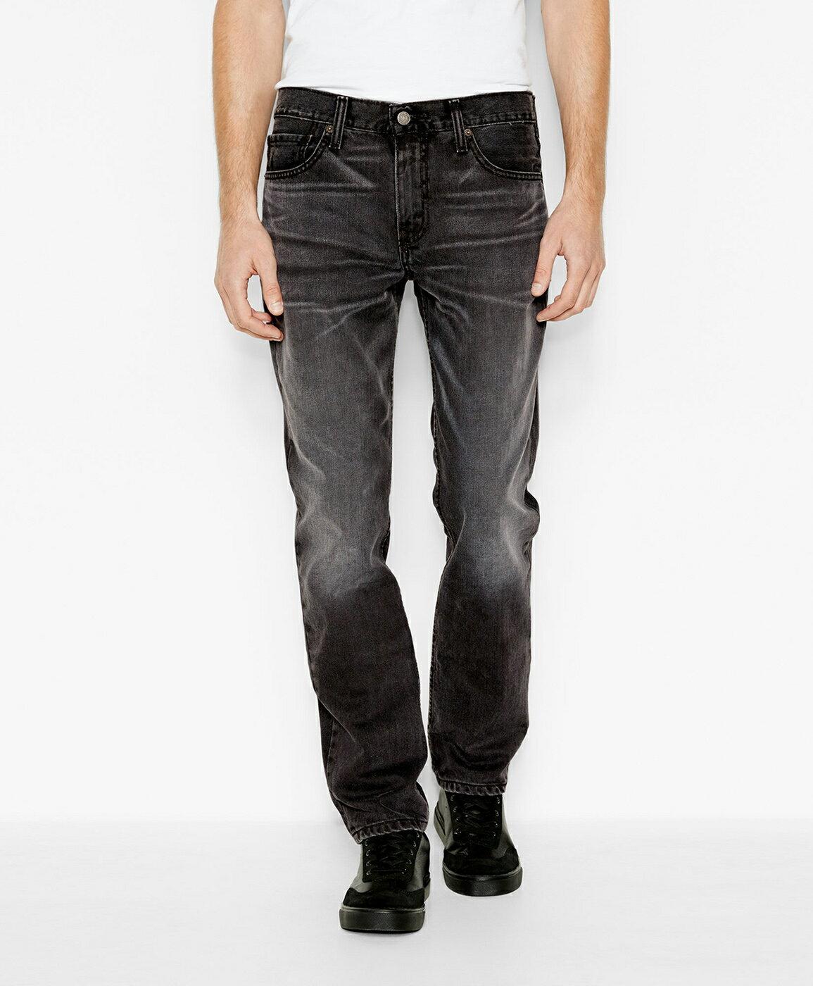 美國百分百【全新真品】Levis 511 Slim Fit 男 牛仔褲 直筒褲 合身 單寧 黑灰 刷白 29 34腰 E264