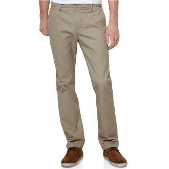 美國百分百【Levis 513】Slim Fit Trouser 男 休閒褲 直筒褲 合身 30 31腰 卡其 F654
