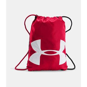 美國百分百【Under Armour】運動時尚 UA Ozsee 中性 背包 後背包 肩背包 輕便 耐磨 紅色 F647