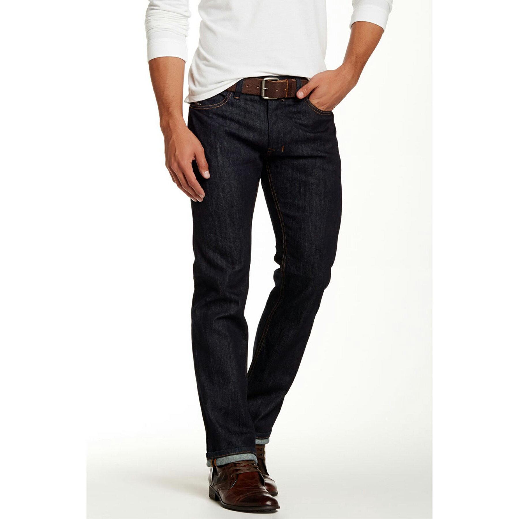 美國百分百【Diesel】褲子 SAFADO 牛仔褲 丹寧褲 休閒褲 小直筒 Regular Slim 深藍 28 30 32腰 F692