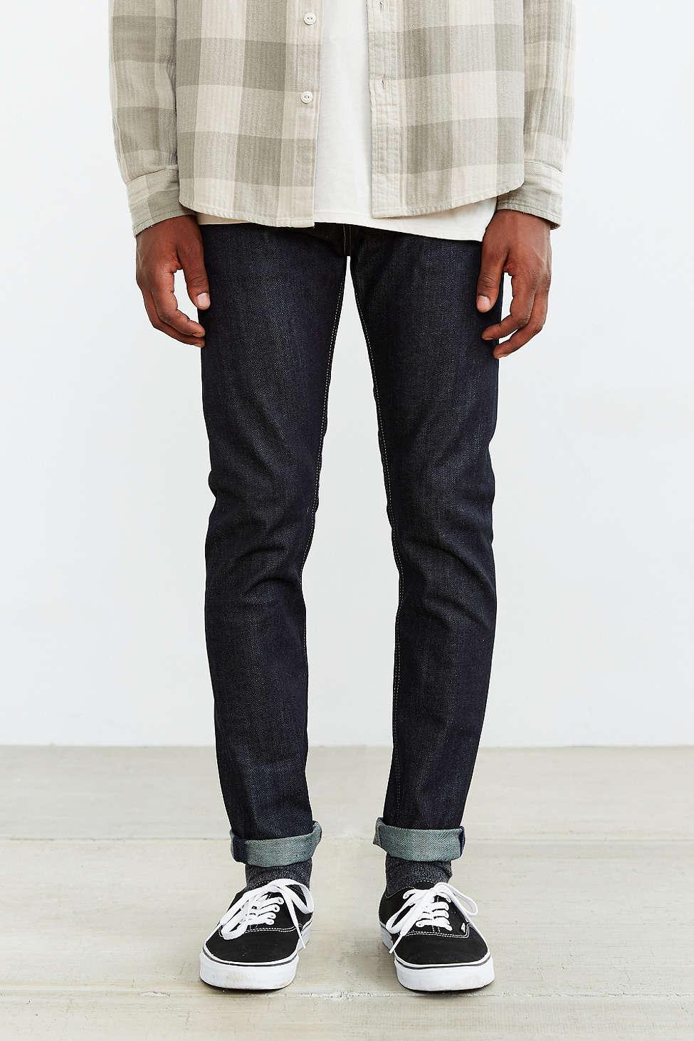 美國百分百【全新真品】Levis 510 Skinny Fit 男 牛仔褲 直筒 修身 窄版 單寧 深藍 29腰 E283