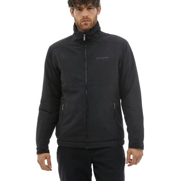 美國百分百:美國百分百【全新真品】Columbia外套哥倫比亞夾克防水刷毛防寒保暖黑色M號F780
