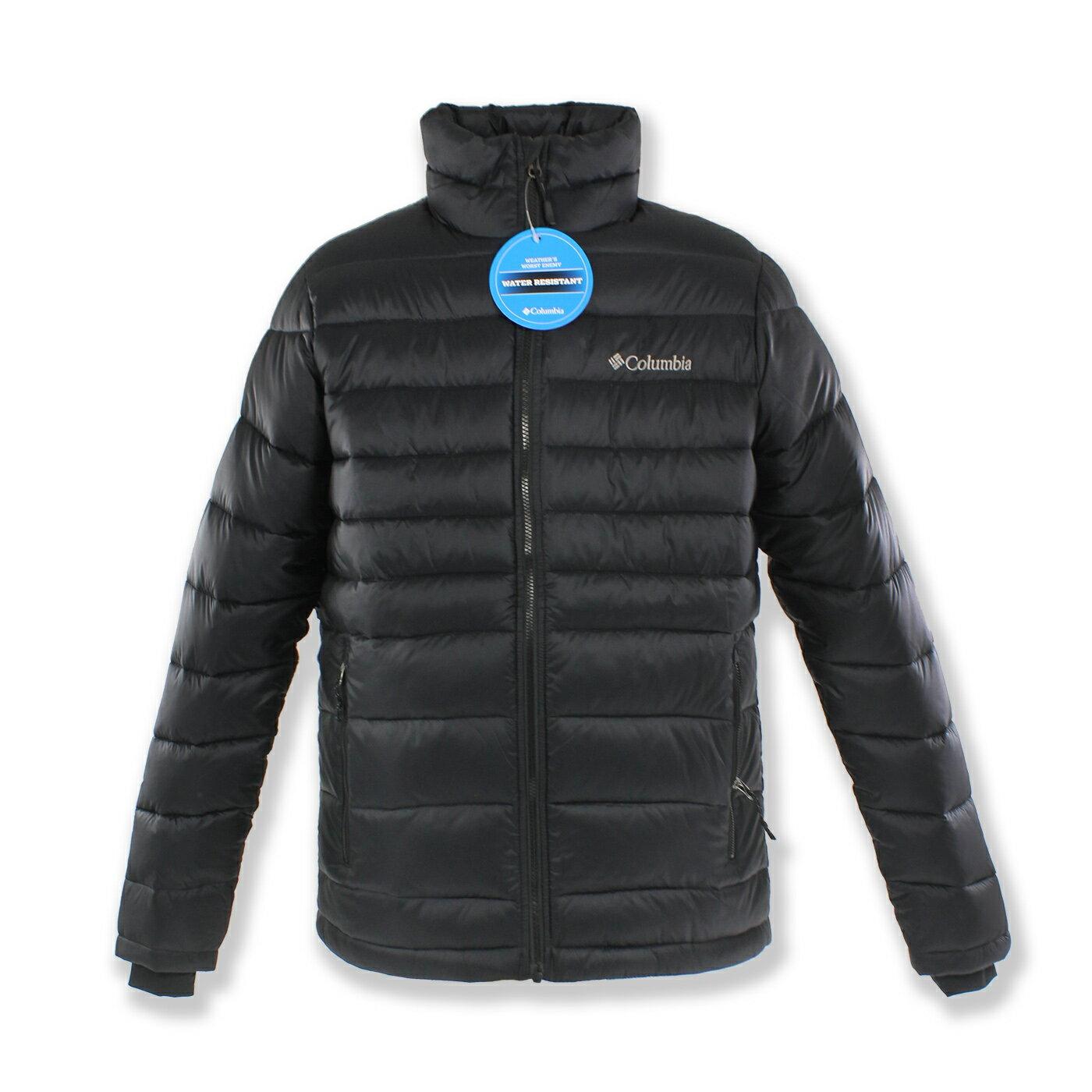 美國百分百【全新真品】Columbia 外套 哥倫比亞 防潑水 中空纖維 保暖 防寒 黑色 S號 F785