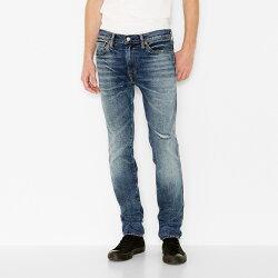 美國百分百【全新真品】Levis 511 Slim Fit 男款 牛仔褲 直筒褲 合身 藍色 刷白 抓紋 刷破 28 29 30腰 E264
