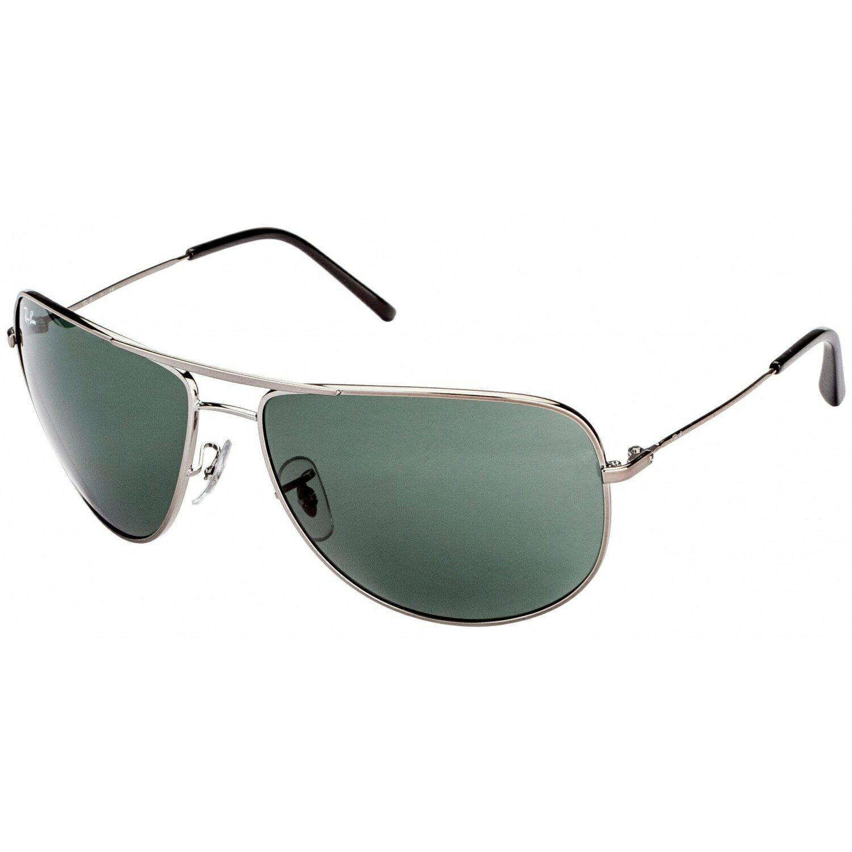 美國百分百【Rayban】雷朋 RB3468E 太陽眼鏡 墨鏡 Aviator 飛行員 重機 騎士 灰色 004/71