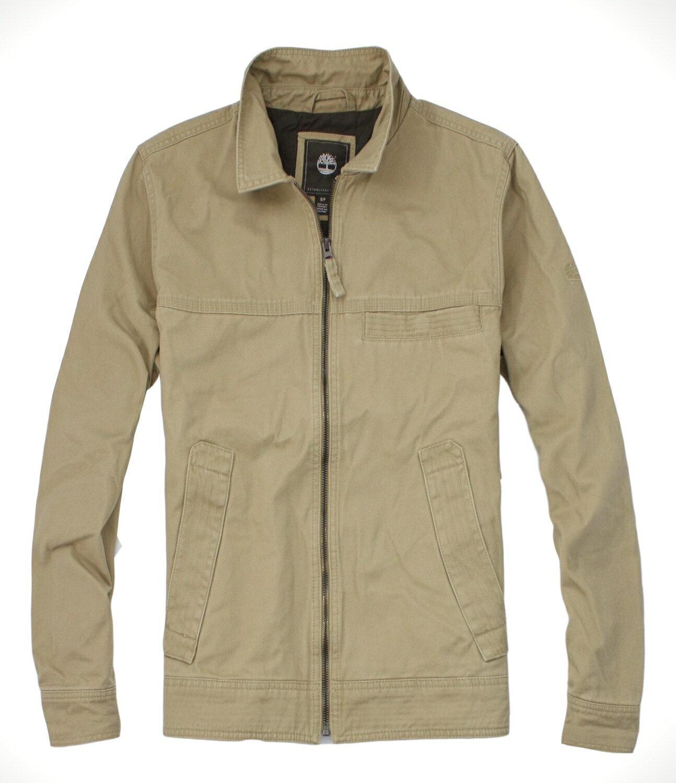 美國百分百【全新真品】Timberland 厚卡其 外套夾克 防寒保暖 短大衣 設計風格 M B974