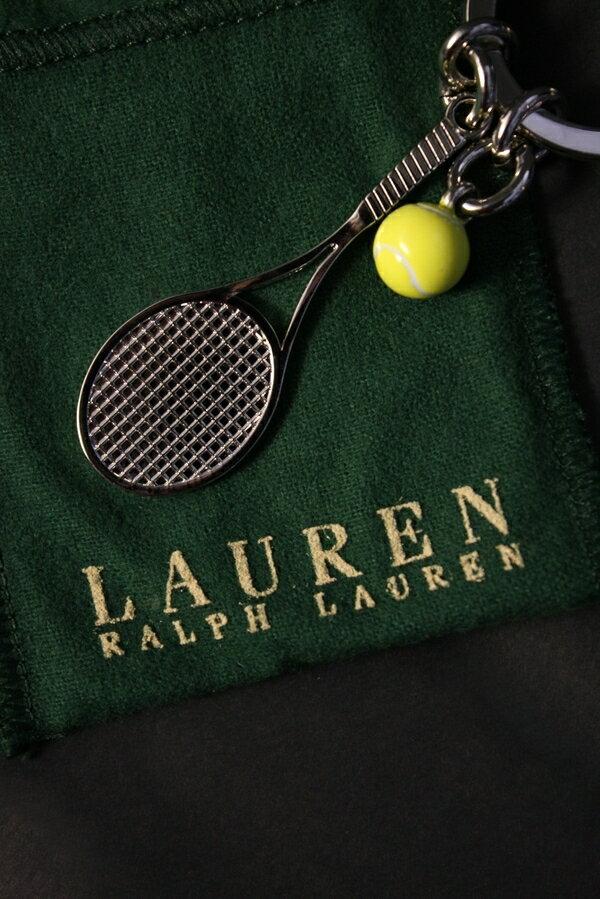 美國百分百【全新真品】Ralph Lauren RL 鑰匙圈 鎖圈 POLO 溫布頓 網球紀念款 聖誕禮物