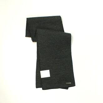 美國百分百【全新真品】Calvin Klein 圍巾 CK 配件 披肩 針織 黑 灰 條紋 保暖 Logo 男 女 B504