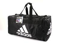 輕鬆旅行收納術推薦美國百分百【全新真品 】Adidas 旅行袋 愛迪達 黑 手提包 運動包 大包 男包 女包 行李 B796