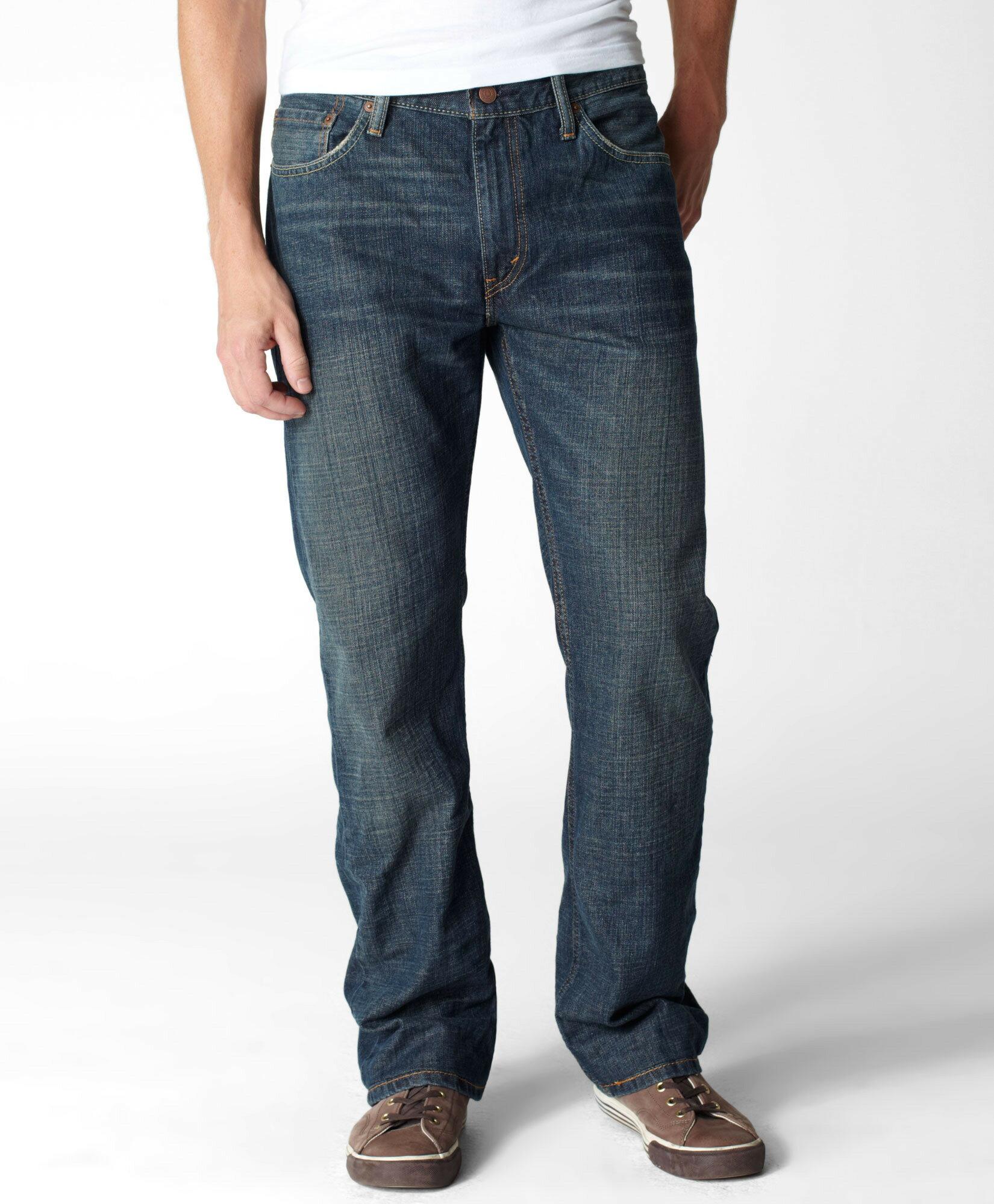 美國百分百【全新真品】Levis 褲子 牛仔褲 長褲 休閒褲 藍 雙頭馬車 丹寧 505 男 30腰 A771
