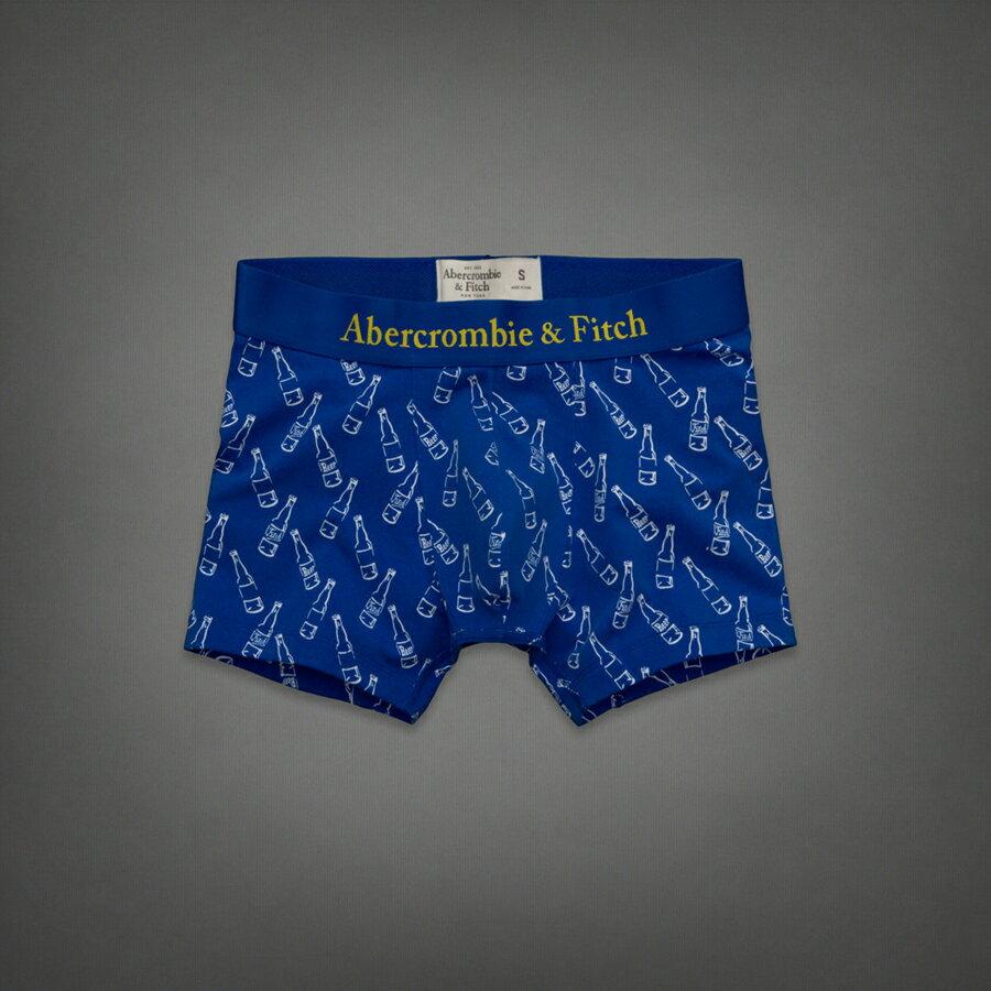 美國百分百【全新真品】Abercrombie & Fitch 內褲 AF 四角褲 平口褲 麋鹿 寶藍 酒瓶 大尺 男 M XL