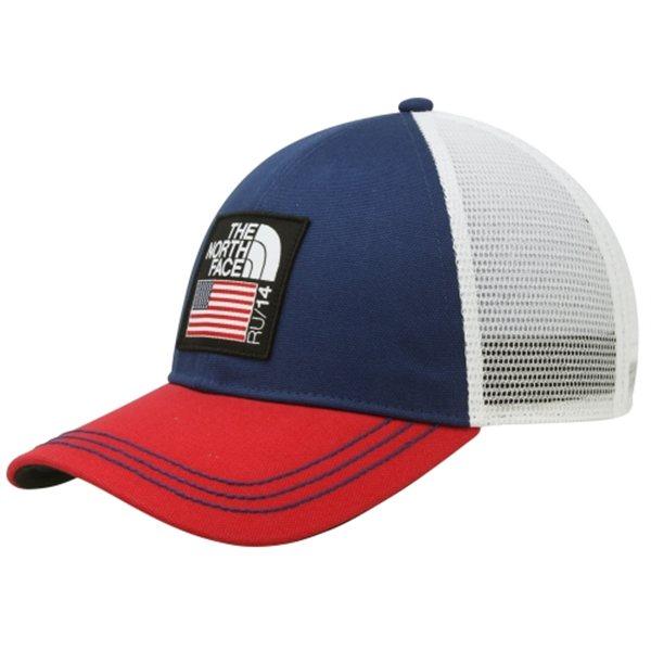 美國百分百【全新真品】The North Face 帽子 TNF 網帽 棒球帽 深藍 男 女 透氣 輕 北臉 E079