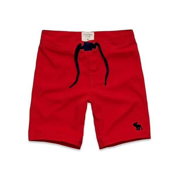 美國百分百~ ~Abercrombie   Fitch 褲子 AF 短褲 海灘褲 休閒 L