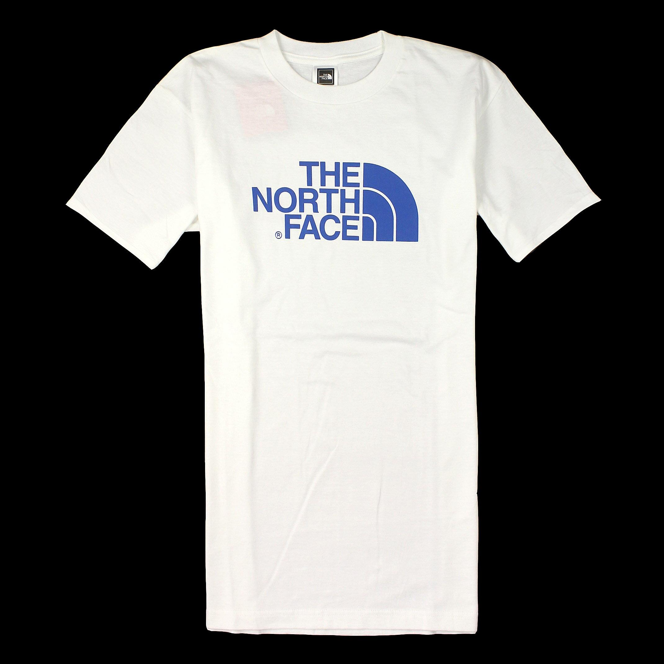 美國百分百【全新真品】The North Face T恤 短袖 上衣 T-shirt 北臉 白 素面 純棉 Logo 男 S M L號