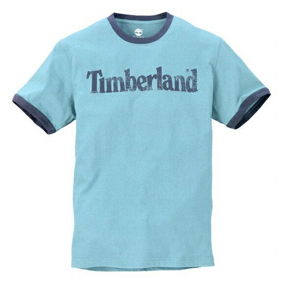 美國百分百【全新真品】Timberland 男衣 經典logo 素T 文字T T恤 短袖 T-shirt 五色 E150