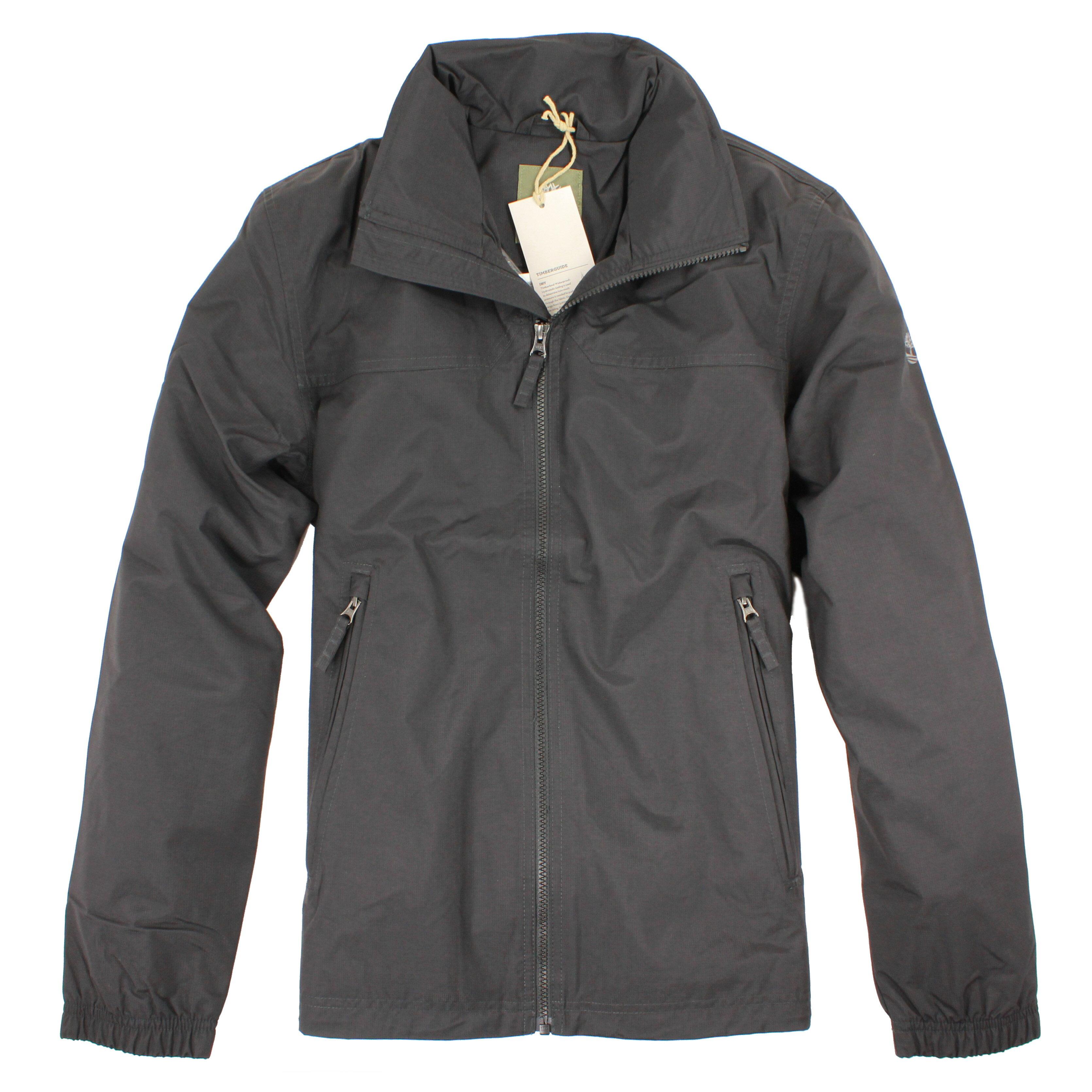 美國百分百【Timberland】 外套 連帽外套 夾克 黑色 防水 機能 耐磨 出國 男衣 戶外 S號 E265