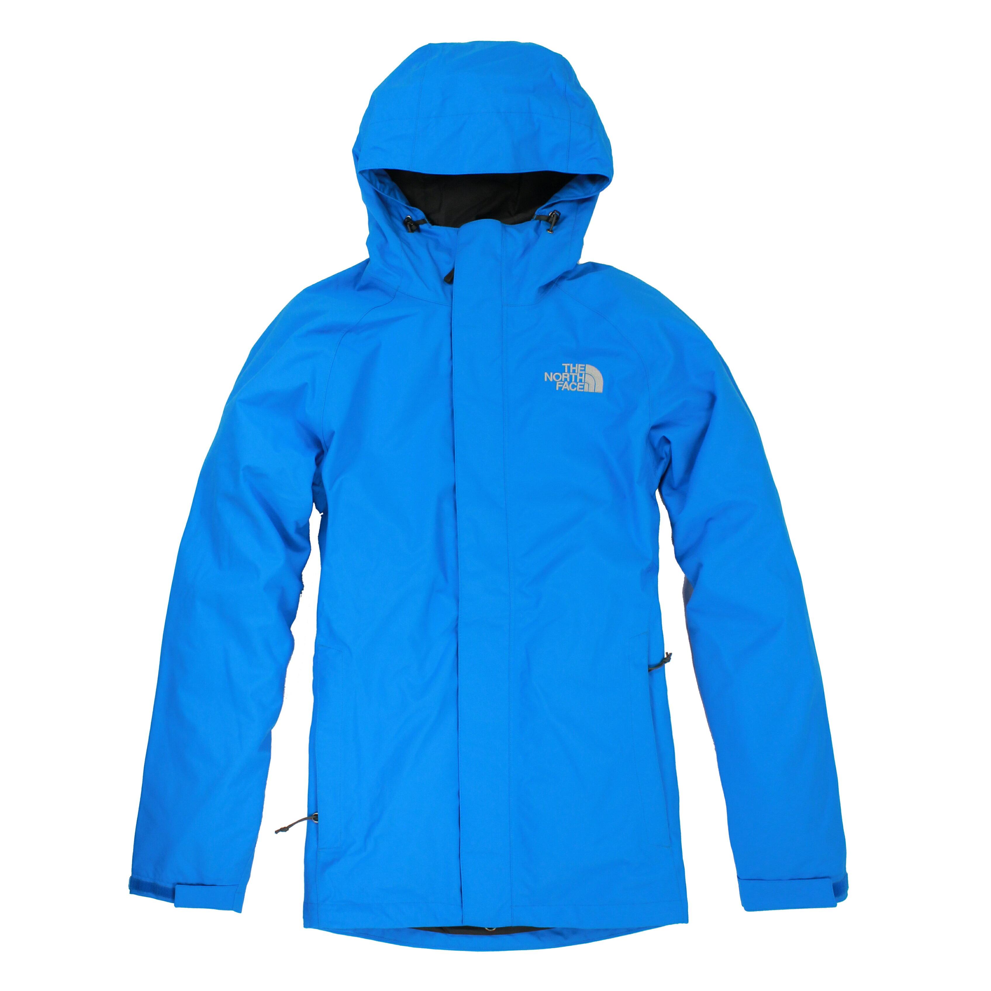 美國百分百【The North Face 】外套 TNF 夾克 連帽 防水 防風 北臉 Hyvent S 藍 E286