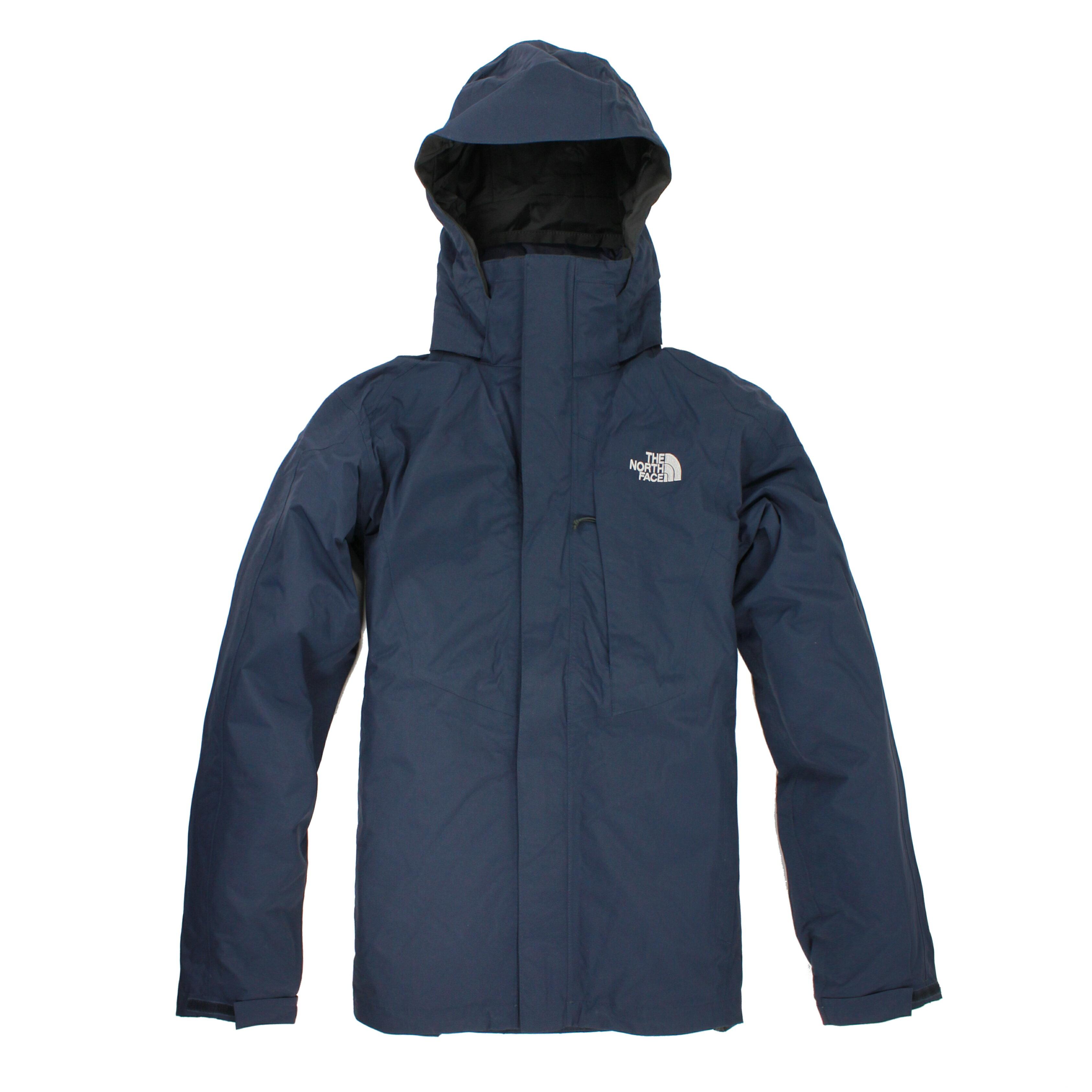 美國百分百【The North Face 】外套 TNF 夾克 防水 北臉 兩件式 S M L XL 深藍 E288