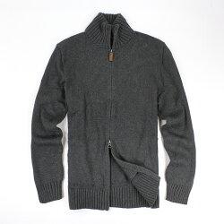 美國百分百【全新真品】Ralph Lauren 針織衫 RL 線衫 夾克 Polo 小馬 深灰 外套 皮革 M E399