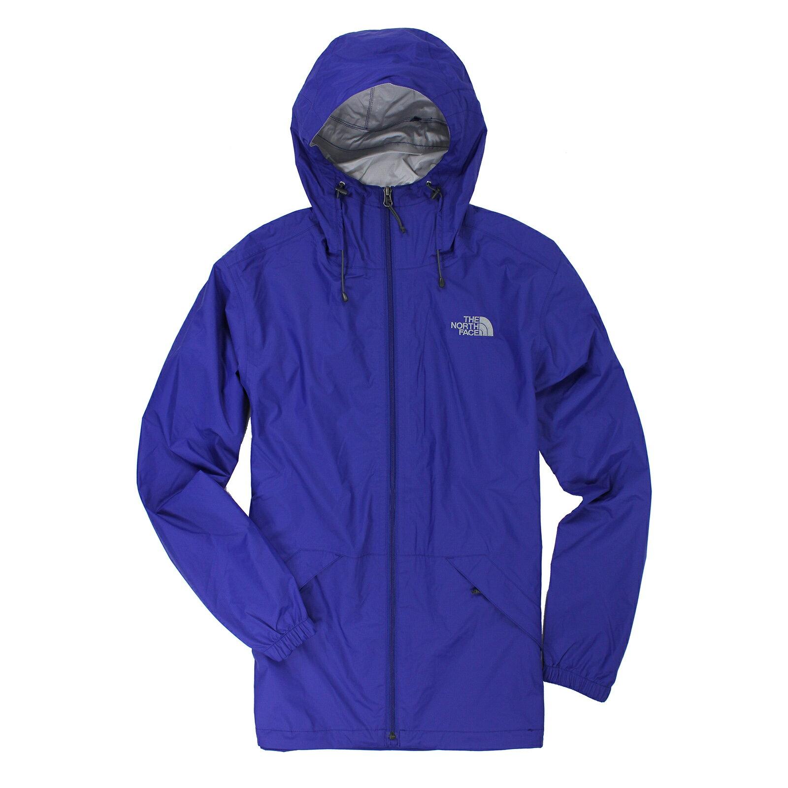 美國百分百【全新真品】The North Face 外套 TNF 北臉 防雨 多功能 防風 防水 寶藍 S E415
