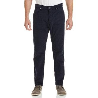 美國百分百【Calvin Klein】CK 長褲 休閒褲 合身 上班 燈芯絨 深藍 30 32 34 36腰 E465