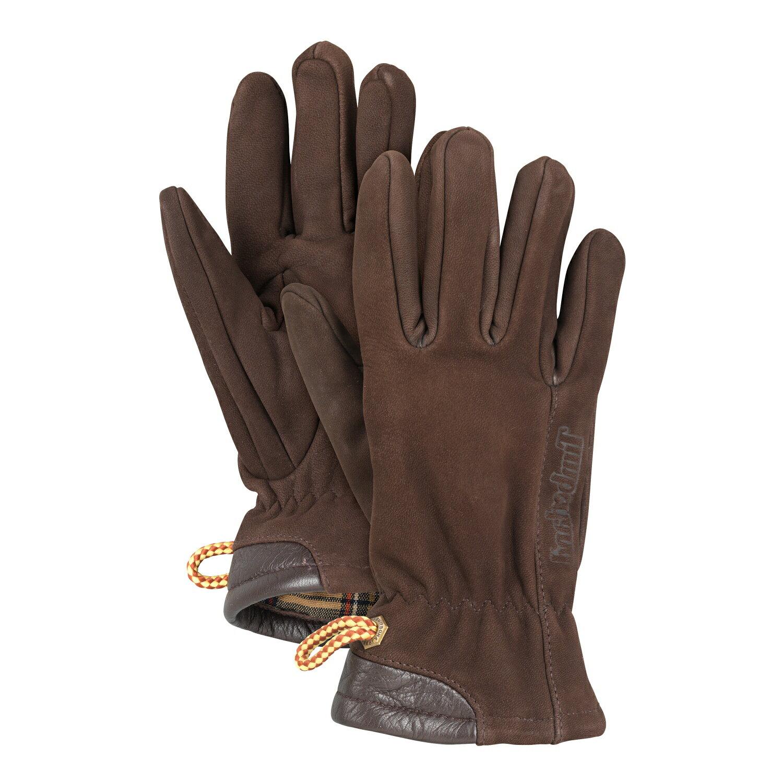 美國百分百【全新真品】Timberland 手套 配件 咖啡色 真皮 保暖 女 XS號 E565