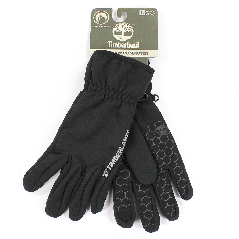 美國百分百【全新真品】Timberland 手套 配件 黑色 保暖 防水 登山 滑雪 男 L號 E566