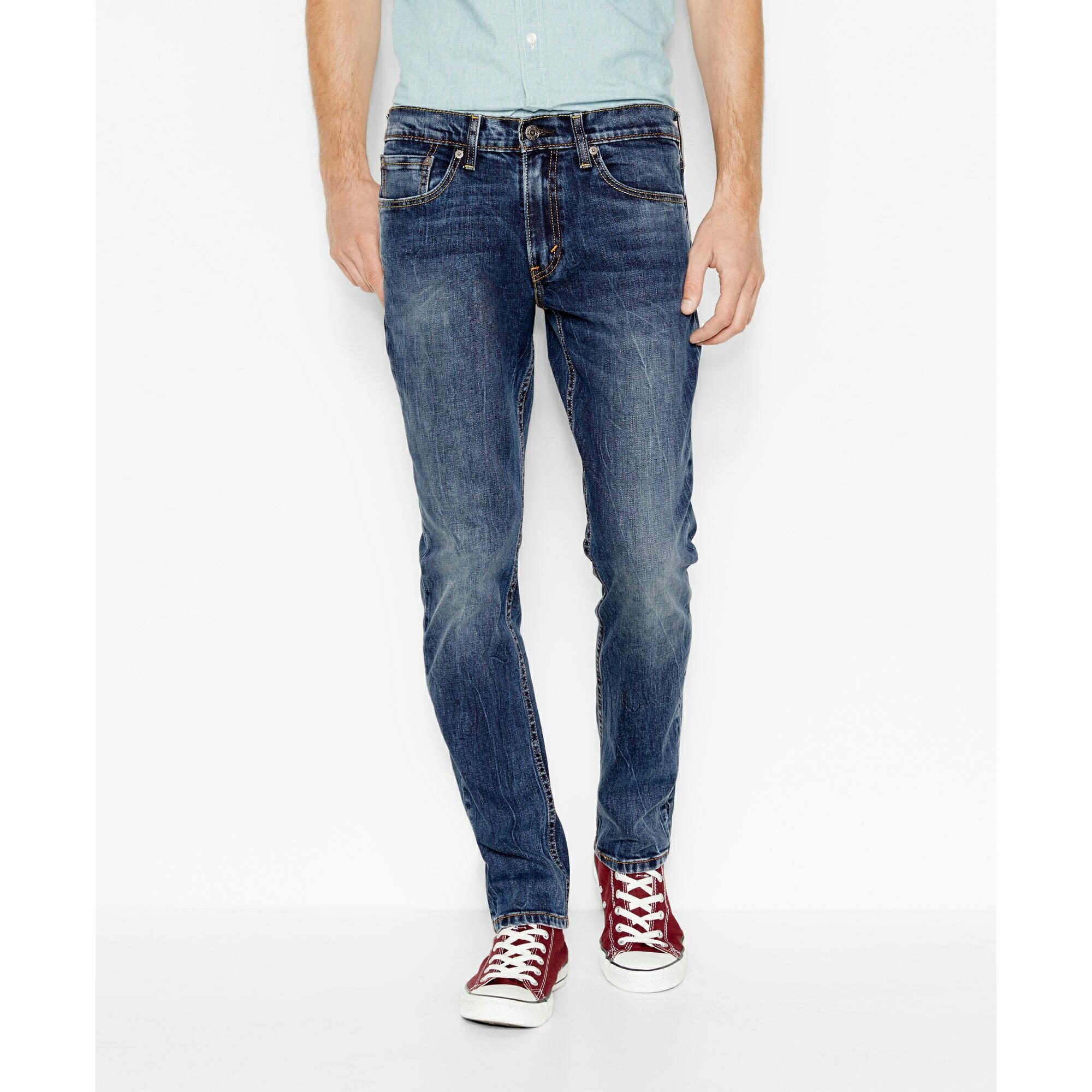 美國百分百【全新真品】Levis 511 Slim Fit 男款 牛仔褲 直筒褲 合身 30 32 34腰 藍 E264