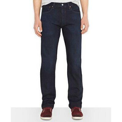 美國百分百【全新真品】Levis 501 Original Fit 男 牛仔褲 直筒 合身 33 34腰 深藍 E636