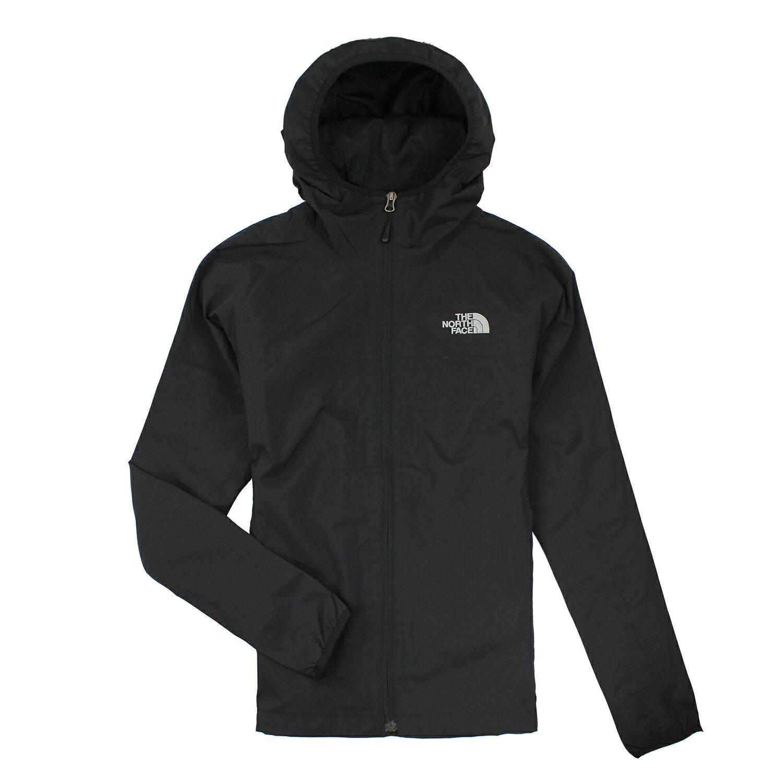 美國百分百【全新真品】The North Face 外套 TNF 夾克 防潑水 防風 北臉 黑 連帽 男 S號 E786