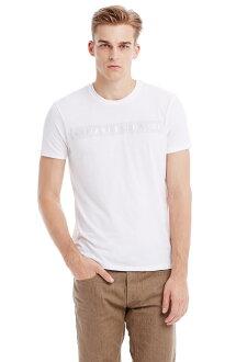 美國百分百【Armani Exchange】T恤 AX 短袖 上衣 logo 亮粉 T-shirt 白 XS E810