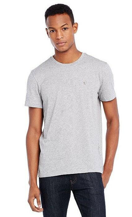 美國百分百【Armani Exchange】T恤 AX 短袖 logo 老鷹 上衣 T-shirt 灰色 S號 E813
