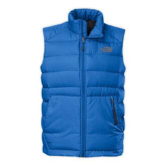 美國百分百【The North Face】背心 TNF 羽絨 北臉 藍 550 保暖 S M L XL XXL E838
