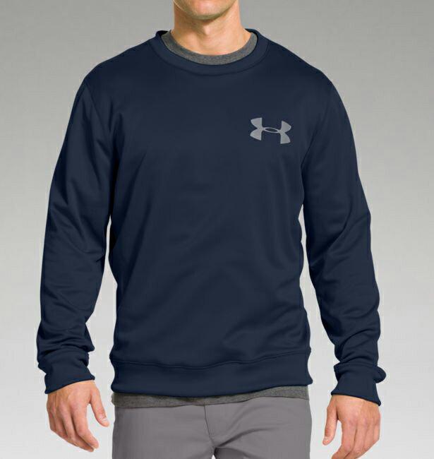 美國百分百【Under Armour】T-Shirt 運動時尚 UA T恤 跑步 長袖 刷毛 深藍 排汗 S E879