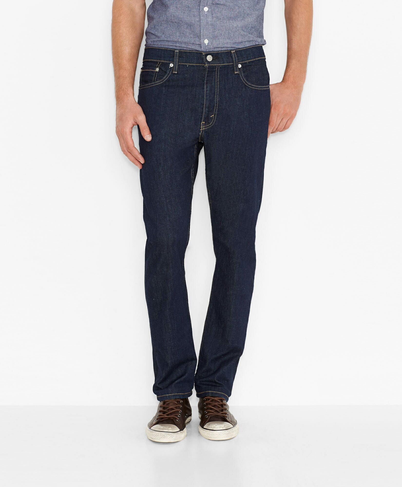 美國百分百【Levis 513】Slim Straight Fit 男 牛仔褲 直筒褲 合身 31腰 深藍 E896